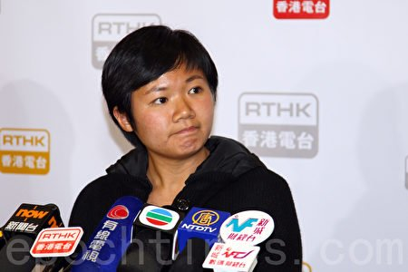 香港電台《鏗鏘集》節目《7.21誰主真相》記者蔡玉玲,於3日下午被警察上門抓捕。(大紀元資料圖片)