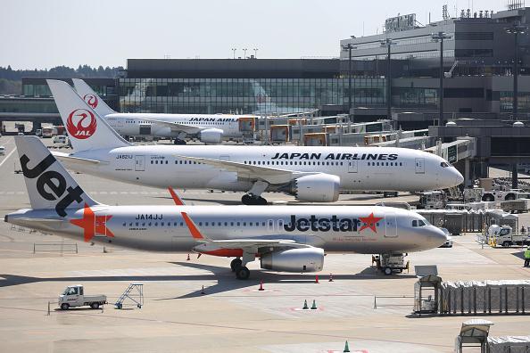 日本東京成田國際機場。(Getty Images)