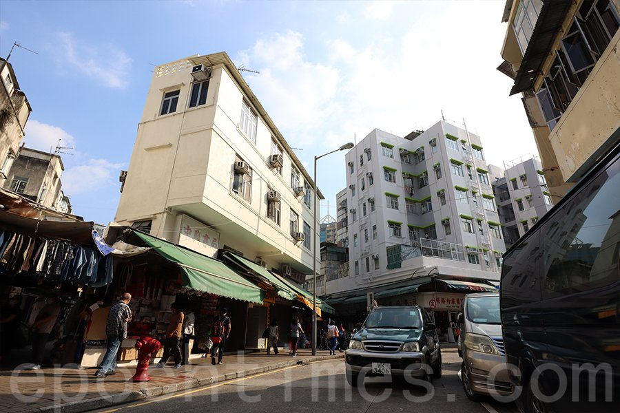 因業主將收回舖位,上水巡撫街四間連排逾65年的老店將步入歷史。(陳仲明/大紀元)
