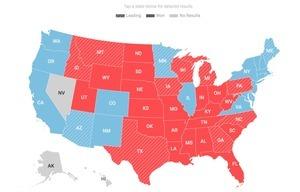 美參眾兩院選情陷膠著 阿拉巴馬藍轉紅