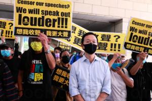 譚得志涉3案14罪保釋遭拒絕續還押 11月17日區院處理終止聆訊