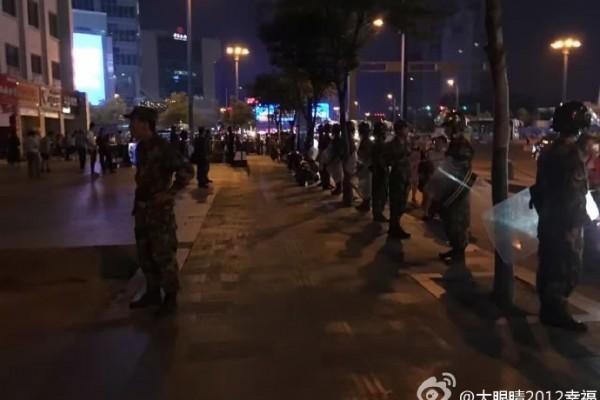 連雲港萬民抗議核廢料遭鎮壓 當局部署曝光