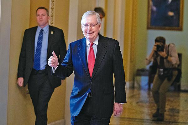 2020年美參議員選舉 麥康奈爾贏得第七任期