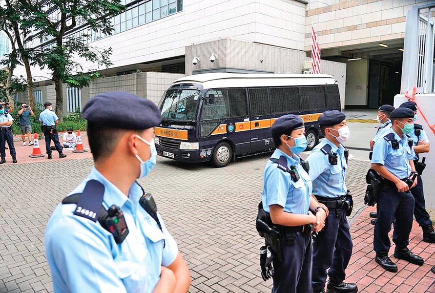 加拿大準備隨時從香港大規模撤僑