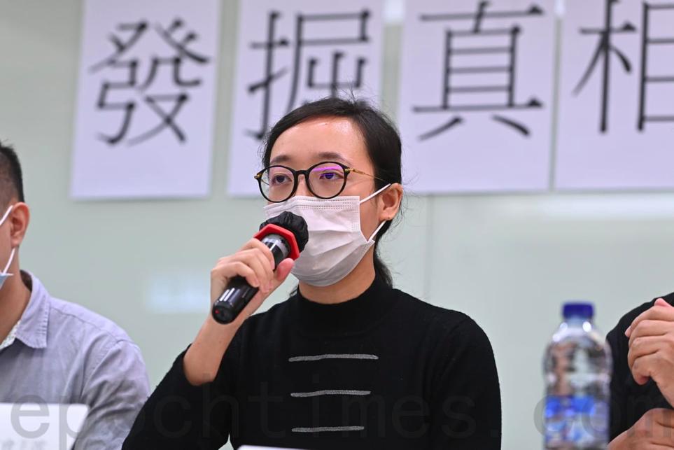 香港電台節目製作人員工會主席趙善恩,要求政府在運輸署查冊系統的申報用途部份加上「新聞報道用途」。(宋碧龍/大紀元)