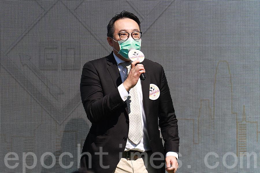 旅遊業議會主席黃進達。(陳仲明/大紀元)