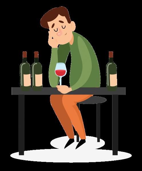 流感康復後出現幻覺 竟是酒精成癮的脫癮症狀