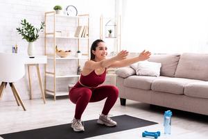 深蹲 : 強化肌力又減脂