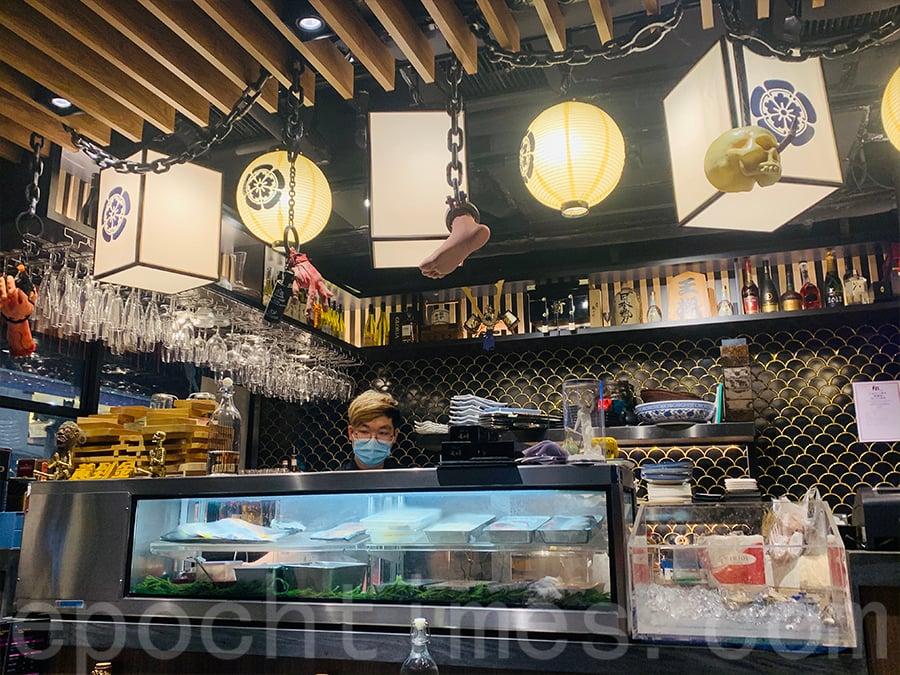 這間餐廳的裝修風格十分新潮,筆者在萬聖節期間到訪,餐廳設有很多極有心思的擺設。(Siu Shan提供)