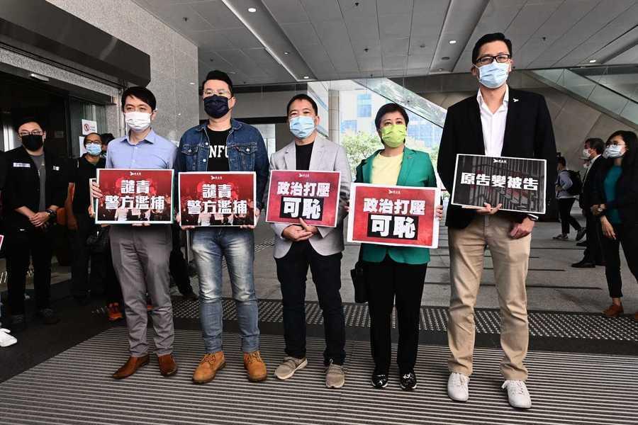 香港議員被控特權法 胡志偉批用法律打壓反對聲音