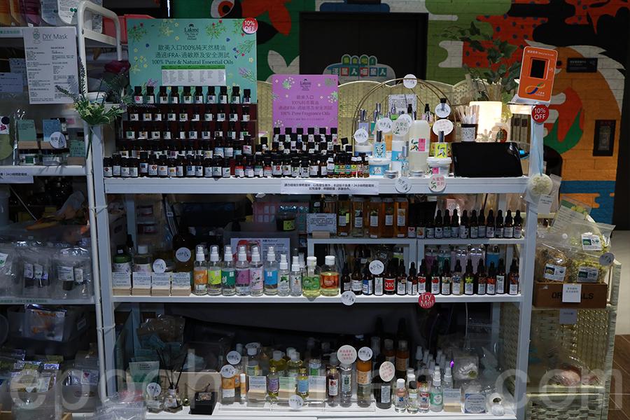Ation的另一大發展方向為創立Lakmé品牌,主打天然的護理産品。(陳仲明/大紀元)