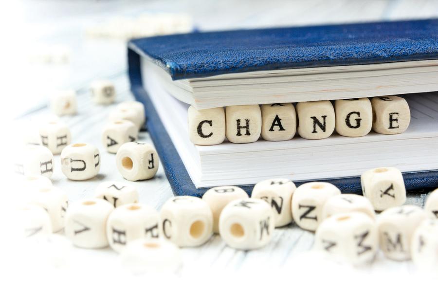 別害怕改變