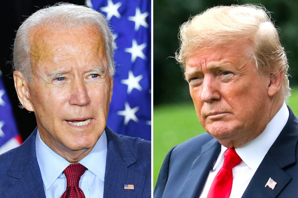 近日的美國大選,劇情跌宕起伏,引起全球關注。(Mandel Ngan/AFP/Getty Images;Samira Bouaou/大紀元)