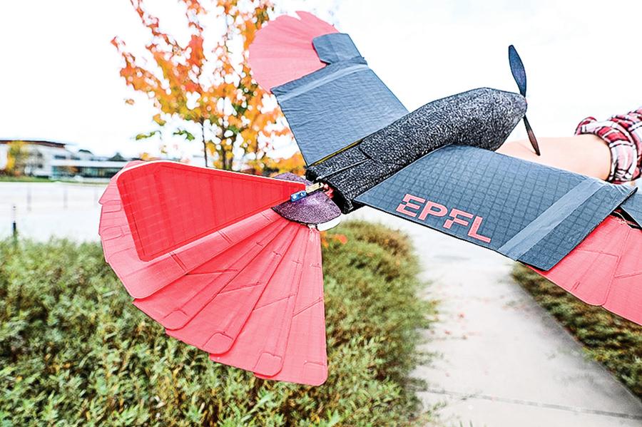 實現機翼和尾翼聯動 新型無人機靈活如蒼鷹