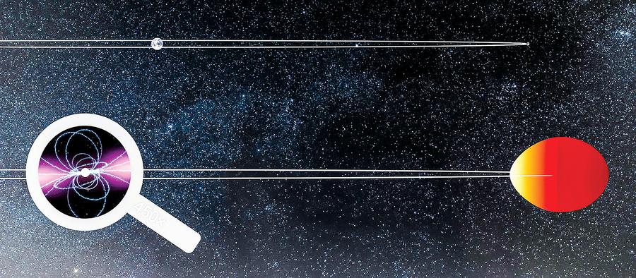 伽馬射線源於罕見黑寡婦星