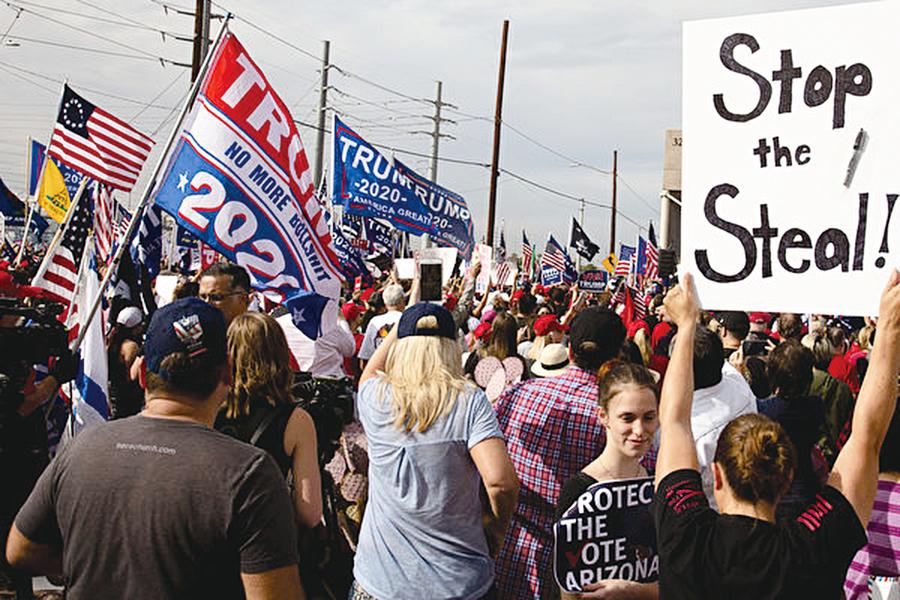正邪激戰 美國大選舞弊的深層原因