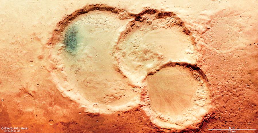 火星上發現神奇「三胞胎」