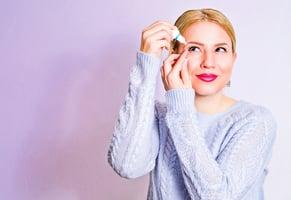 乾眼症造成視力模糊、眼睛畏光 新型治療藥劑有效緩解不適