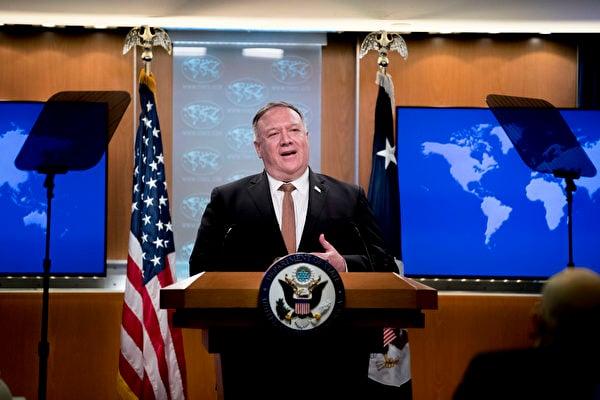 蓬佩奧:將幫助中國人民推倒網絡防火牆