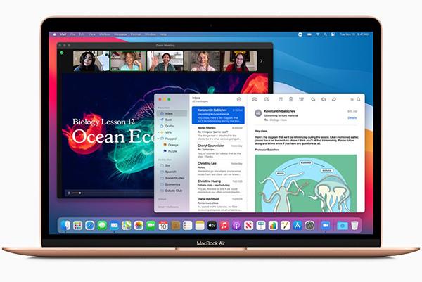 蘋果推搭載自家處理器Mac