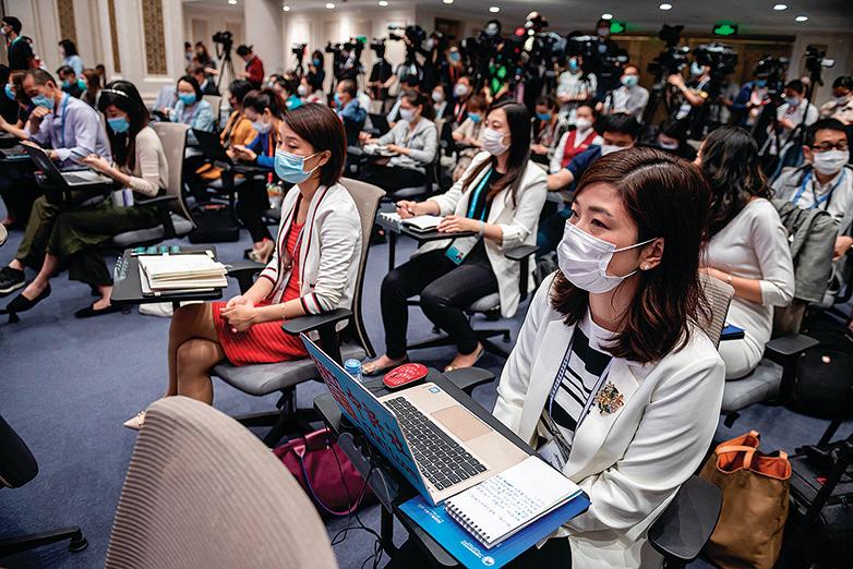二十萬記者通過「習思想」考試 領新版記者證
