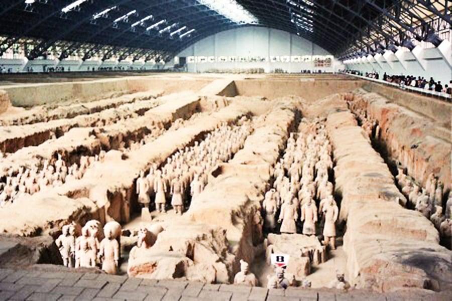 秦始皇震鑠古今的兩大軍團