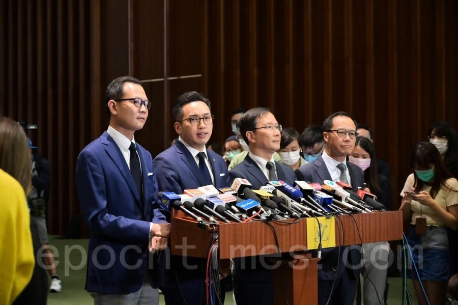 港四位民主派議員遭中共DQ  陳家洛:美國或將加強制裁