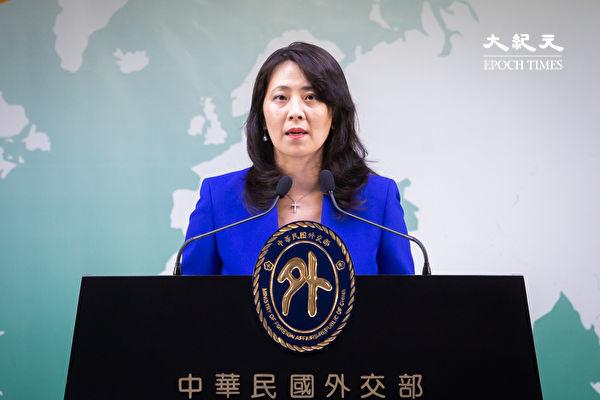 立陶宛新一屆執政聯盟於11月9日支持台灣捍衛自由。對此,中華民國外交部表示感謝。圖為外交部發言人歐江安。(李怡欣/大紀元)