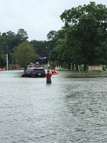 路易斯安那州被「滅頂」。(推特圖片)