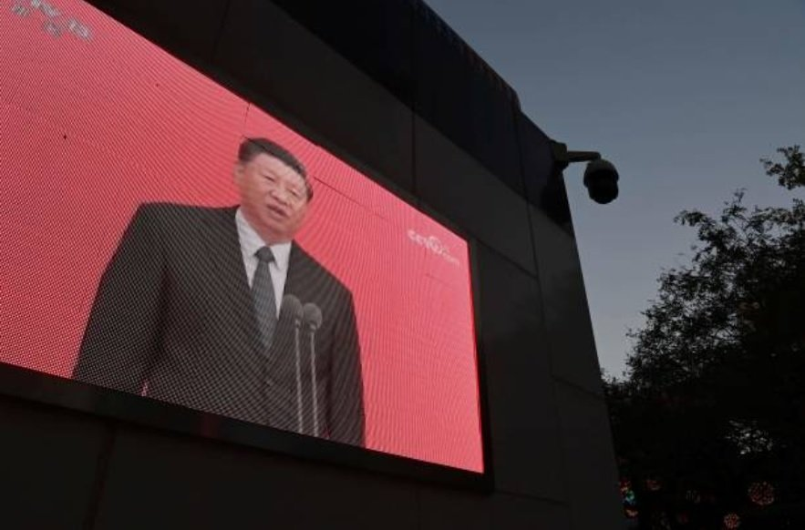 中共總書記習近平11月12日出席上海「浦東開發開放30周年」大會。圖為資料圖。(GREG BAKER/AFP via Getty Images)