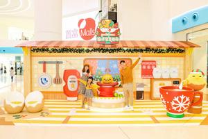 置富Malls三商場舉行「蛋黃哥」聖誕派對