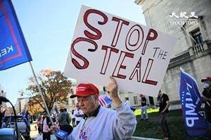 全美將百萬人大遊行反舞弊 特朗普:拜登輸很多