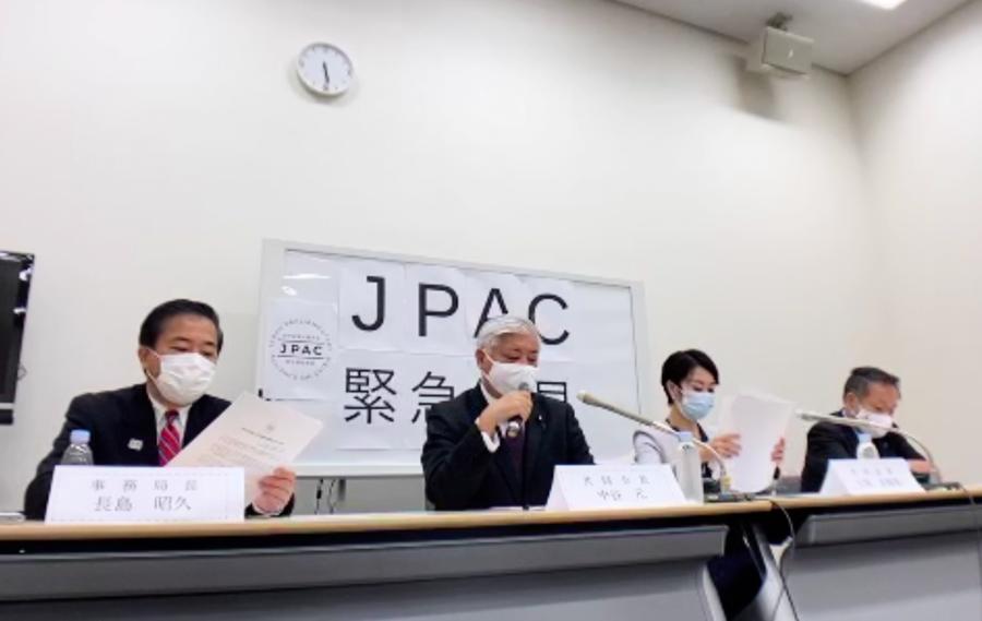 日本跨黨派議員譴責中共DQ香港議員 籲政府制裁