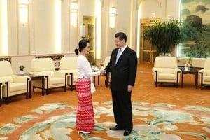 緬甸重要大會前昂山素姬訪華 有何考量