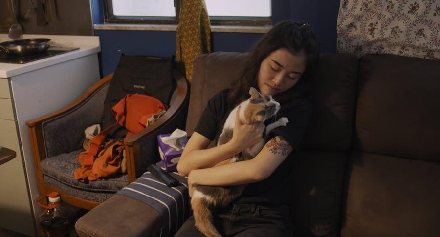 Kate兩年前在深水埗的一間酒吧認識了林倩同(Jessica),和她成為了朋友。(高先電影提供)