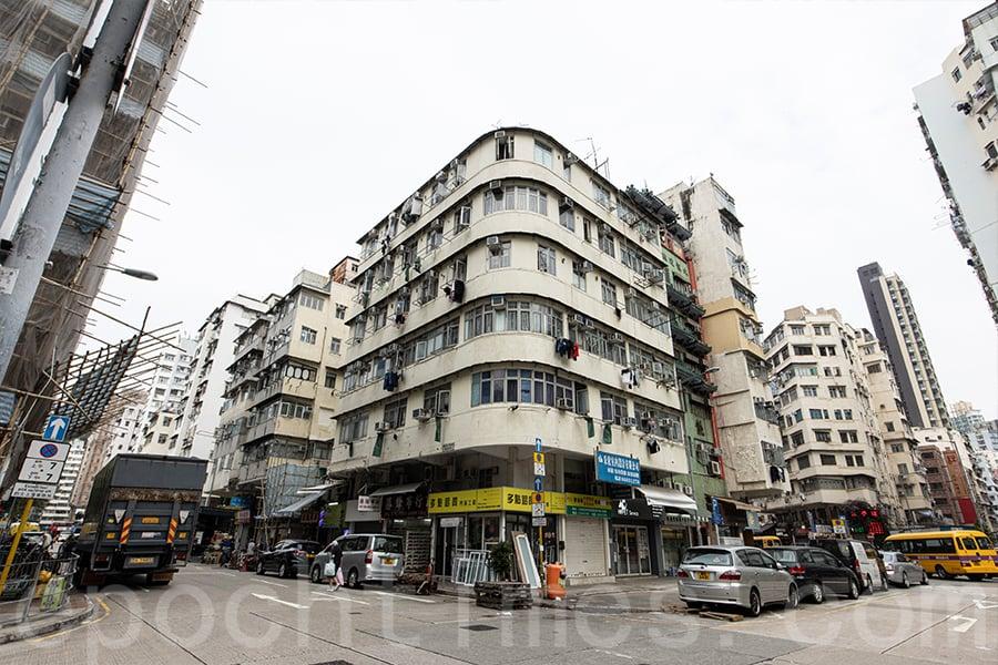 近年來,深水埗被喻為「香港的布魯克林(Brooklyn)」。(陳仲明/大紀元)