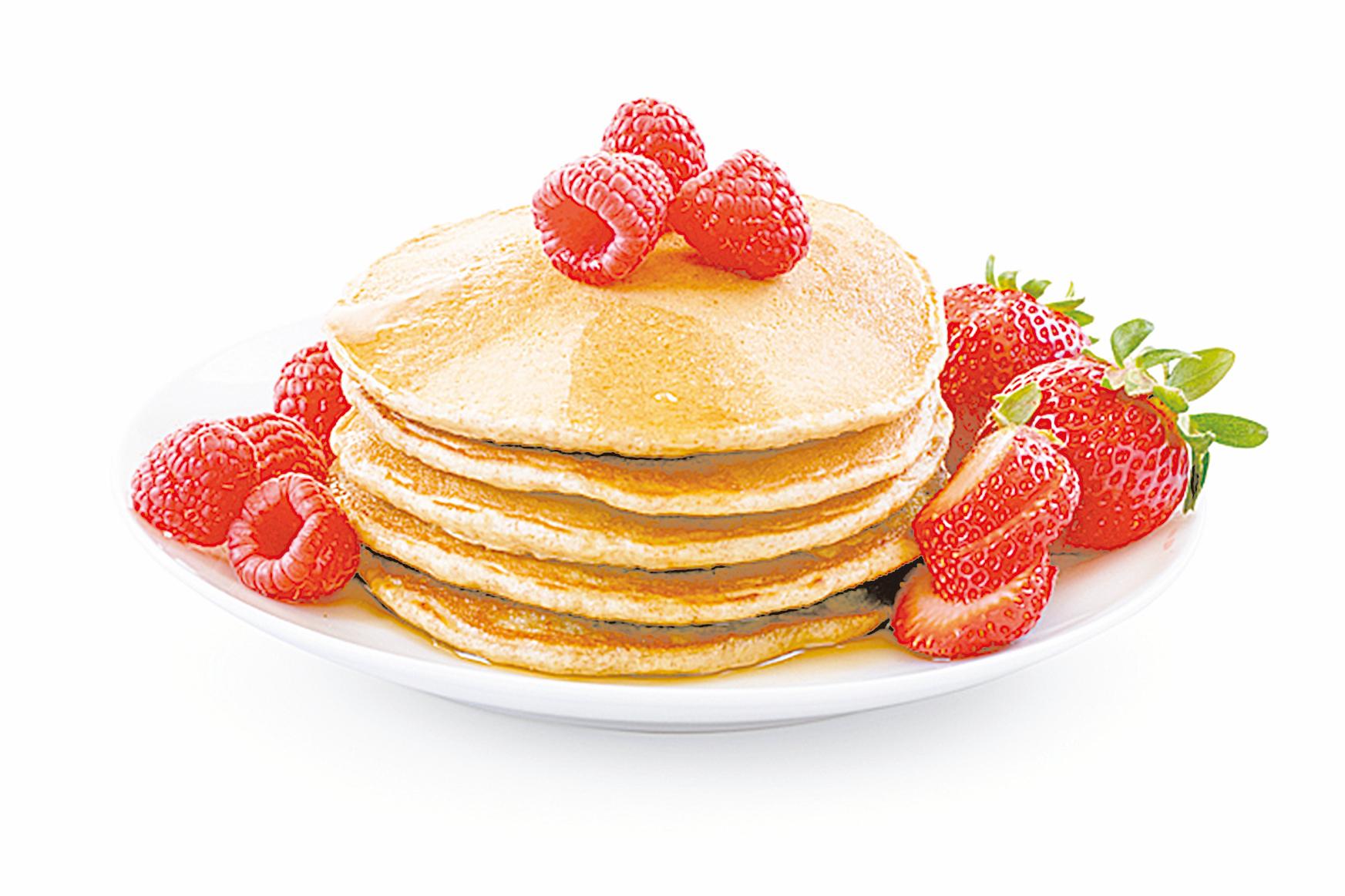 如果你希望鬆餅的風味更豐富,可以嘗試把配方中一半的麵粉換成裸麥粉、杏仁粉等穀物粉。
