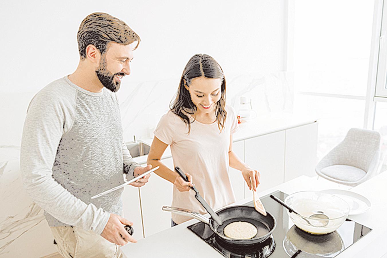 對新手來說,只要改變方法,製作鬆餅的成功率就會大大提高。