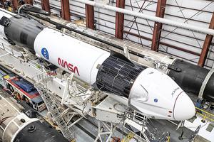SpaceX龍飛船獲安全認證 14日送4人赴太空