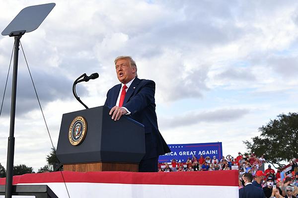 2020年美大選風向標縣 特朗普獲壓倒性支持