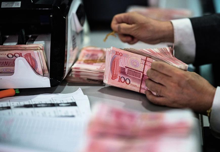 中共央行投放八千億救市