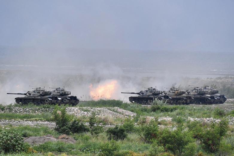 回應中共奪島演習 台東沙島十二月火炮射擊