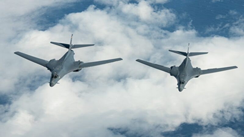 美軍艦成功擊落洲際彈道導彈 B-1B轟炸機現東海