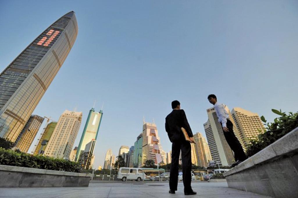 大陸房地產多項重要指標回落預示下半年的樓市很可能出現逐漸下行的趨勢。(ETER PARKS/AFP/Getty Images)