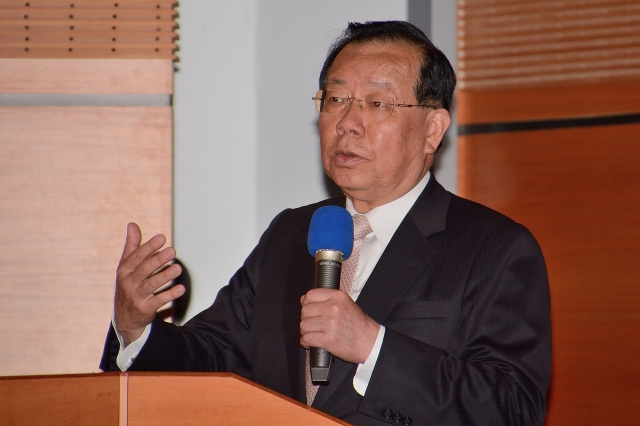 台灣前財政部部長、駐WTO大使顏慶章。圖為資料照。(方惠萱/大紀元)