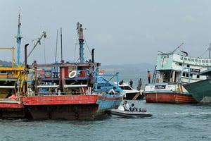 捍衛主權 印尼毀71艘越界漁船