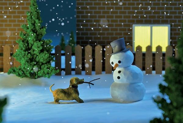 小雪 冬至 聖誕