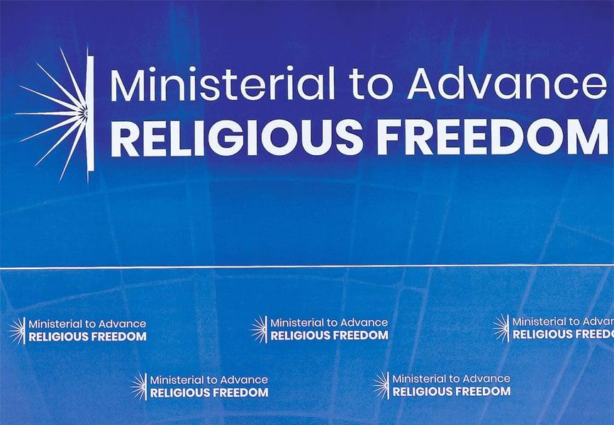 第三屆宗教自由會議波蘭開幕