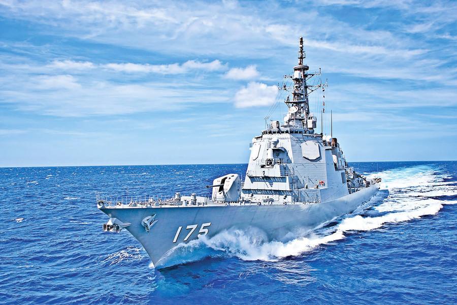 世界各國的 主力戰艦 驅逐艦大放異彩