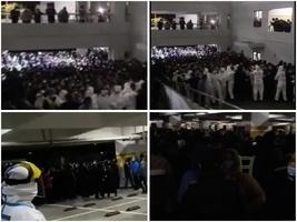 【一線採訪】上海疫情擴散 浦東機場封閉集中檢測